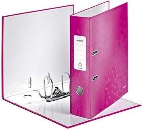 Leitz Qualitäts-Ordner 180° WOW 80mm, pink (10050023)