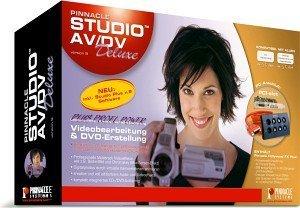 Pinnacle: Studio 9.0 AV/DV Deluxe (PC) (202262064)