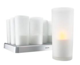 Philips Imageo LED Candle weiß, 12er-Set (800428-91)