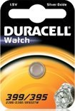 Duracell 399/395 (SR57) round cell, silver oxide, 1.5V