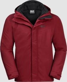 Jack Wolfskin Gotland 3in1 Jacke red maroon (Herren) (1110721-2049)
