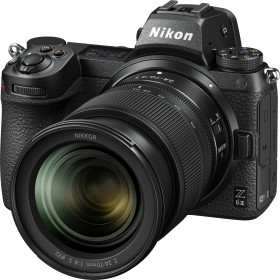Nikon Z 6II with lens Z 24-70mm 4.0 S and mount adapter FTZ (VOA060K003)