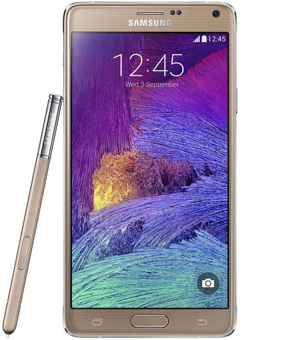 Samsung Galaxy Note 4 N910F gold