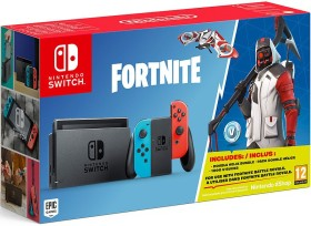Nintendo Switch - Fortnite Bundle schwarz/blau/rot