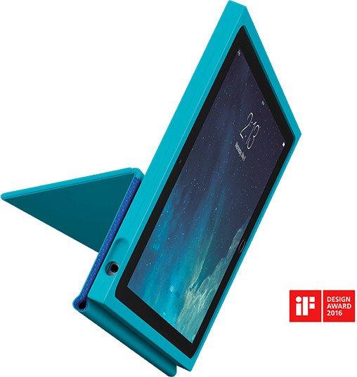 Logitech BLOK Protective Flip-Case für Apple iPad Air 2 blau/türkis (939-001252)