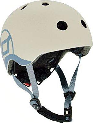 Scoot and Ride Baby Kinderhelm ash (96360) -- via Amazon Partnerprogramm