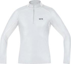 Gore Wear M Gore Windstopper Base Layer Thermo Shirt langarm light grey/white (Herren) (100325-9201)