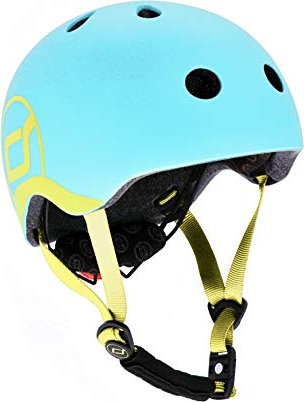 Scoot and Ride Baby Kinderhelm blueberry (96388) -- via Amazon Partnerprogramm