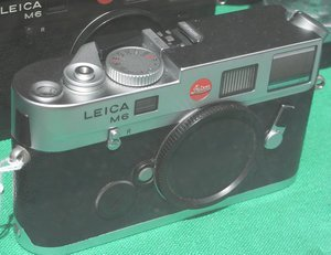 Leica M6 TTL -- provided by bepixelung.org - see http://bepixelung.org/4371 for copyright and usage information