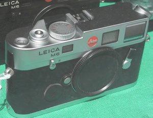 Leica M6 TTL -- © bepixelung.org
