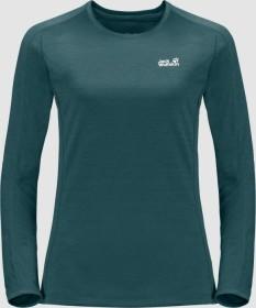 Jack Wolfskin Hydropore XT Shirt langarm dark jade (Damen) (1805372-4027)