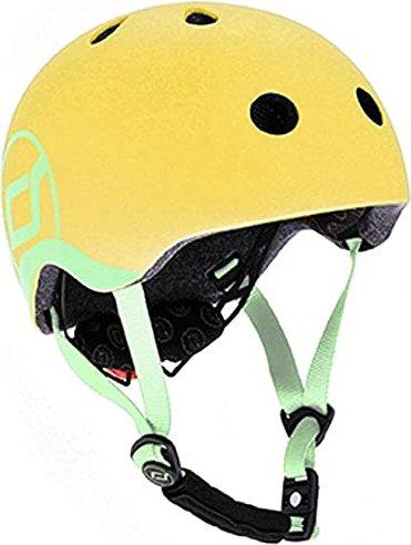 Scoot and Ride Baby Kinderhelm lemon (96390) -- via Amazon Partnerprogramm