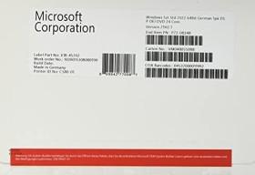 Microsoft Windows Server 2022 64bit Standard OEM/DSP/SB, 24 Cores (German) (PC) (P73-08348)