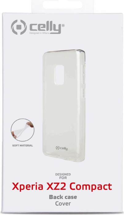 Celly Gelskin für Sony Xperia XZ2 Compact transparent (GELSKIN724)