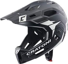 Cratoni C-Maniac 2.0 MX Fullface-Helm white/black matt