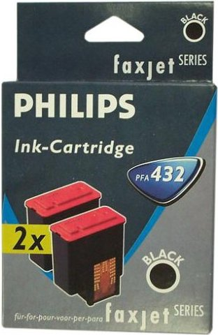 Philips PFA 432 Druckkopf mit Tinte schwarz, 2er-Pack -- via Amazon Partnerprogramm