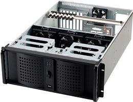 Fantec TCG-4860X black, 4U