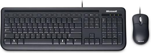 Microsoft OEM Wired Desktop 400 schwarz, USB, DE (5MH-00014)