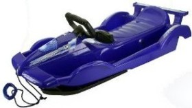 AlpenGaudi Race steerable bobsled blue (992100)