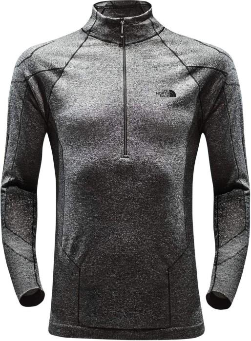 8544086ec920b9 The North Face Summit Series L1 Half-Zip Shirt langarm black heather (Herren )