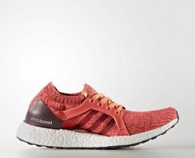 adidas Ultra Boost X easy coral/maroon/glow orange (Damen) (BB1694)