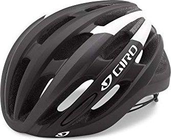Helme & Protektoren Giro schwarz weiß 2018 Foray Fahrradhelm Radsport