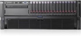 HP ProLiant DL580 G5, 2x Xeon MP E7430, 4GB RAM (487365-421)