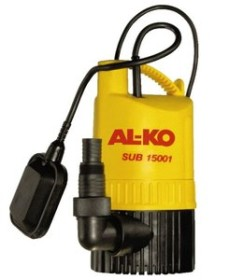 AL-KO SUB15001 Elektro-Klarwassertauchpumpe