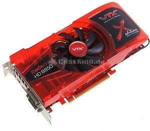VTX3D Radeon HD 6850 X-Edition, 1GB GDDR5, 2x DVI, HDMI, 2x mini DisplayPort (VX6850 1GBD5-2DHX) -- © caseking.de