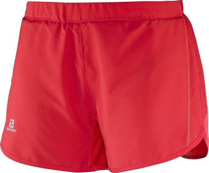 9b1021c02505ec Salomon Agile Short Laufhose kurz rot (Damen) (379627)