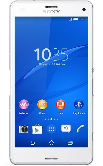 Sony Xperia Z3 Compact weiß