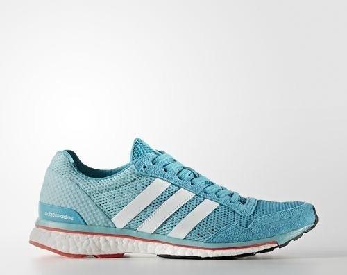 best sneakers e8e59 ae67c adidas adizero Adios 3 energy bluefootwear whiteeasy mint (Damen) (