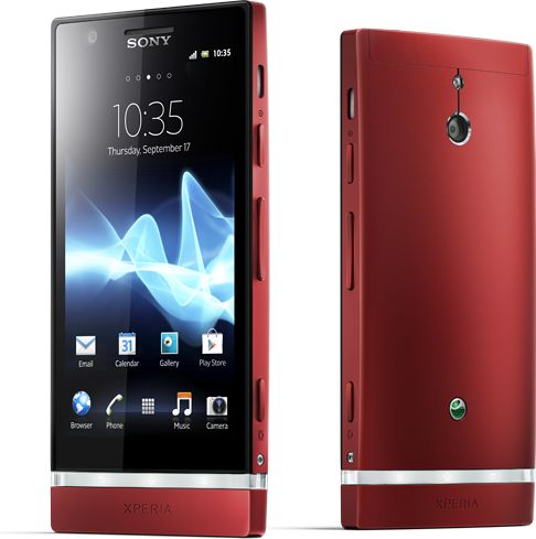 Sony Xperia P red