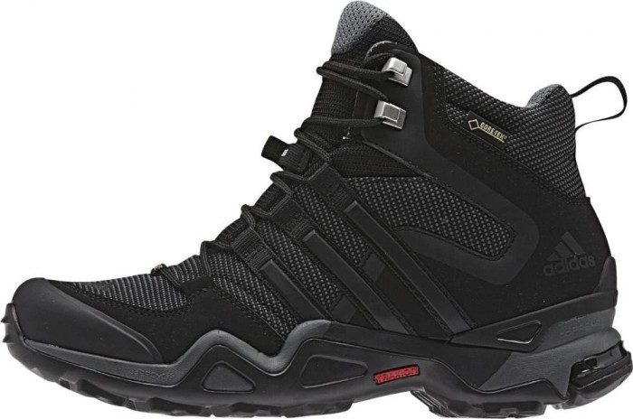 adidas Damen Fast X High GTX W Wanderschuhe, Grau (Dark Grey/Core Black/Vista Grey), 40 2/3