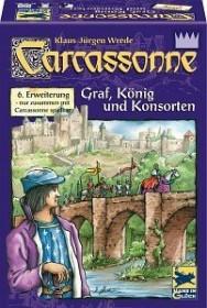 Carcassonne - Graf, König und Konsorten (6. Erweiterung)