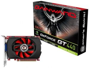 Gainward GeForce GT 440, 512MB GDDR5, VGA, DVI, HDMI (1787)