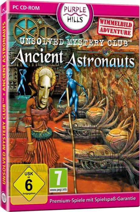 Unsolved Mystery Club: Ancient Astronauts (deutsch) (PC)