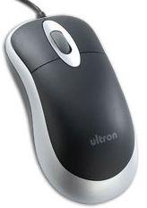 Ultron UM-100 Basic Optical Mouse, USB (49308)