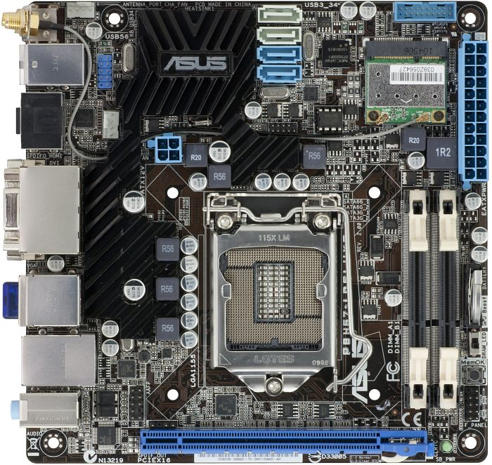 ASUS P8H67-I Deluxe (B3) (90-MIBE7A-G0EAY0KZ)