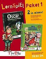 Tivola: LernSpiel Paket 1: Oscar der Ballonfahrer/Fred und das Flaschenfahrrad, ab 4 Jahren (deutsch+englsich) (PC+MAC)