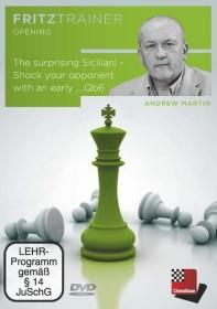 Chessbase Andrew Martin: The surprising Sicilian (englisch) (PC)