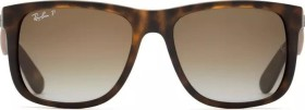Ray-Ban RB4165 Justin Classic 54mm havana/polarized brown (865/T5)