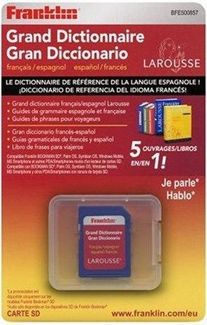 Franklin BFE-500857 Larousse Französisch-Spanisch für Bookman-SD -- via Amazon Partnerprogramm