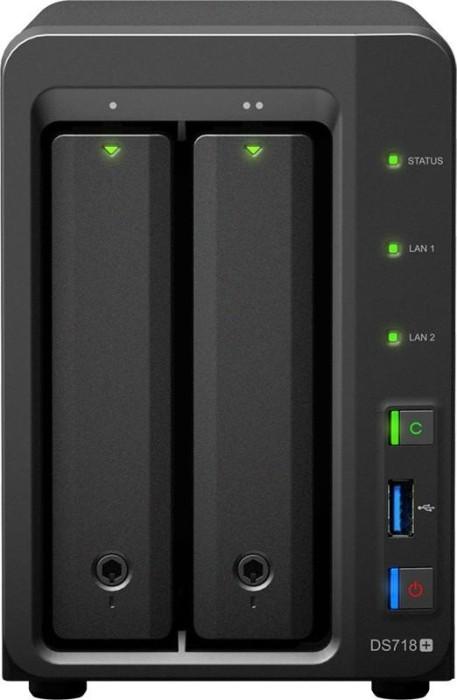 Synology DiskStation DS718+, 2GB RAM, 2x Gb LAN