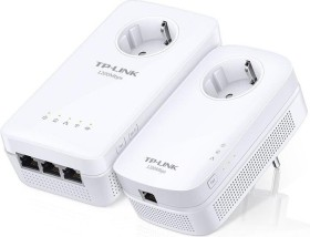 TP-Link AV1200 Gigabit Passthrough Powerline ac Wi-Fi Kit, 2er-Bundle (TL-WPA8630P KIT)