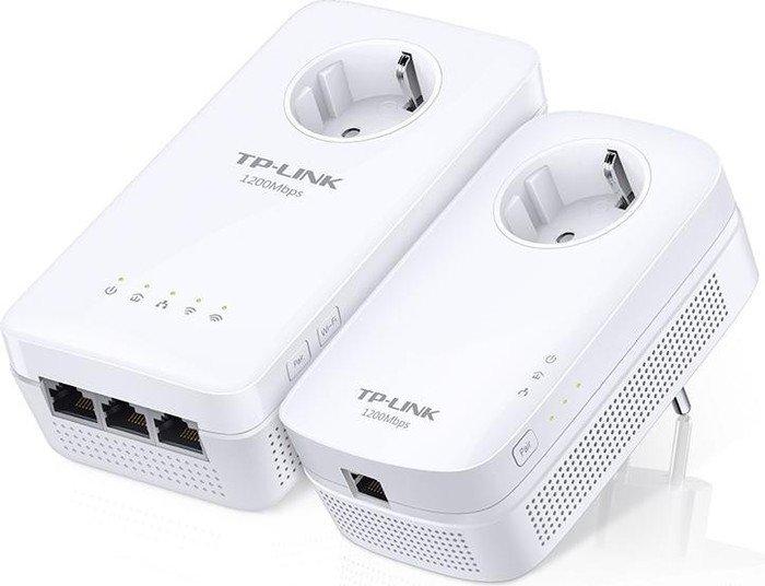 TP-Link AV1200 Gigabit Passthrough Powerline ac Wi-Fi Kit (TL-WPA8630P KIT)