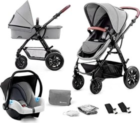 Kinderkraft Moov 3in1 Kombi-Kinderwagen grey