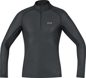 Gore Wear M Gore Windstopper Base Layer Thermo Shirt langarm schwarz (Herren) (100325-9900)