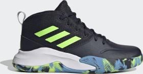 adidas Own the Game Wide legend ink/signal green/signal cyan (Junior) (FW4566)