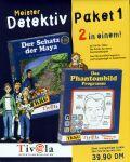Meister Detektiv Paket 1: TKKG3: Der Schatz der Maya und TKKG: Der Phantombildzeichner, ab 8 Jahren (niemiecki) (PC+MAC)